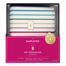 Emily Ley Simplified System Happy Stripe