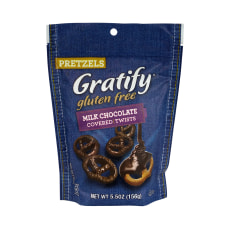 Gratify Gluten Free Milk Chocolate Covered