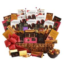 Givens Godiva Chocolate Overload Gift Basket