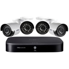 Lorex DP181 42NAE DVR cameras wired
