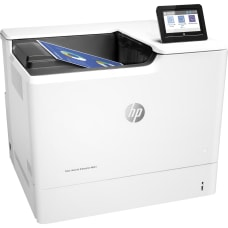 HP LaserJet M653dn Laser Printer Color