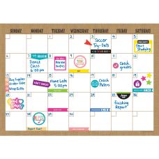 Teacher Created Resources Clingy Burlap Calendar