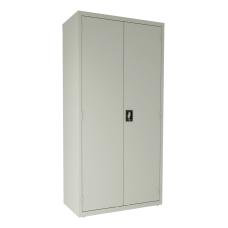 Lorell Steel Locking Janitorial Storage Cabinet