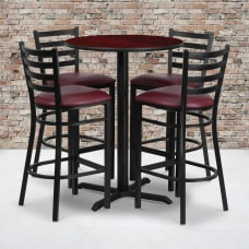 Flash Furniture Round Table And 4