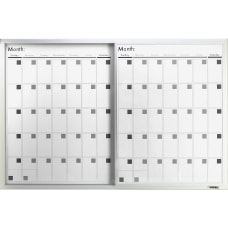 Lorell Magnetic Dry Erase Calendar Board