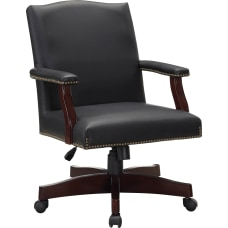 Lorell Berkeley Traditional Bonded Leather Executive