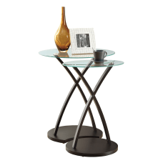 Monarch Specialties Francine Nesting Tables 24