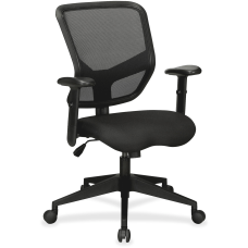 Lorell Executive MeshFabric Mid Back Chair