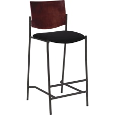 Lorell Cafe Barstool Wooden Back 42