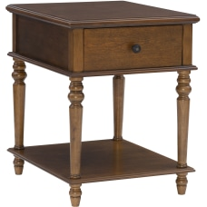 Powell Heaton Side Table With 1