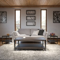 Flash Furniture 3 Piece Wood Grain