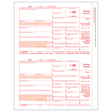ComplyRight 1099 INT Tax Forms 2