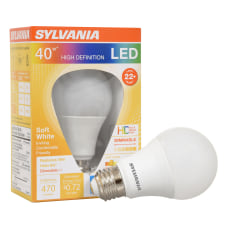 Sylvania LEDvance A19 Dimmable 470 Lumens