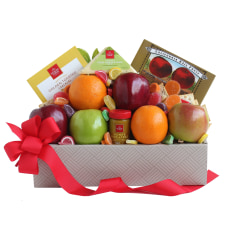 Givens California Fruit Cheese Gift Box