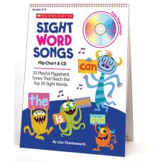 Flip Charts Sight Word Songs Flip