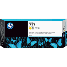 HP 727 High Yield Yellow Ink