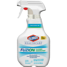 Clorox Healthcare Fuzion Cleaner Disinfectant Ready