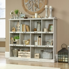 Sauder Barrister Lane 10 Cube Bookcase
