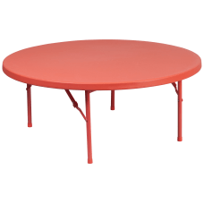 Flash Furniture Round Kids Plastic Folding