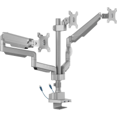Lorell Triple Monitor Arm Mount With