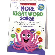 Scholastic K 2 More Sight Words