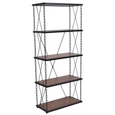 Flash Furniture 57 H 4 Shelf