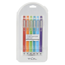 TUL Mechanical Pencils 07 mm Assorted