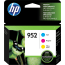 HP 952 Tri Color Ink Cartridges